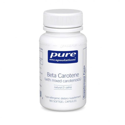 Beta Carotene 25000 IU - 180 Softgels