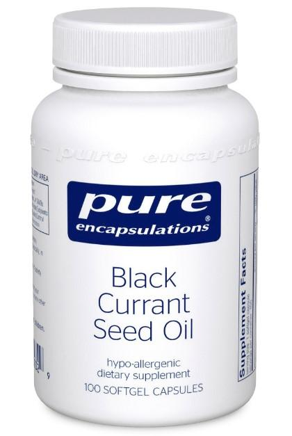 Black Currant Seed Oil 500 mg - 100 Softgels