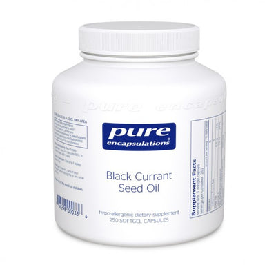 Black Currant Seed Oil 500 mg - 250 Softgels