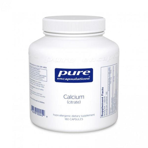 Calcium Citrate 150 mg - 180 Vegetarian Capsules