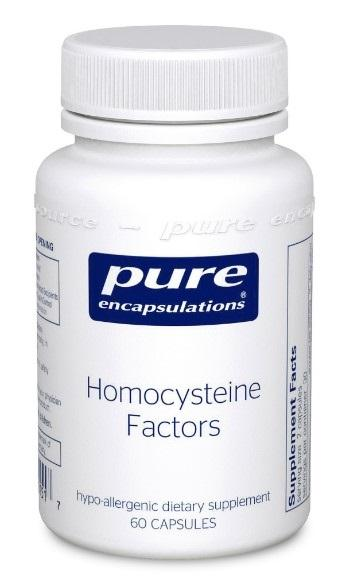 Homocysteine Factors - 60 Vegetarian Capsule