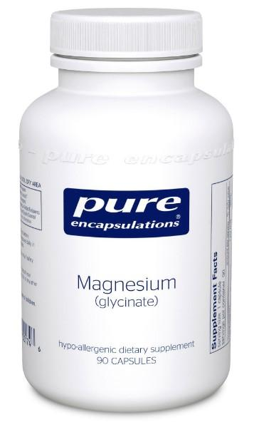 Magnesium (glycinate) 120 mg - 90 Vegetarian Capsules