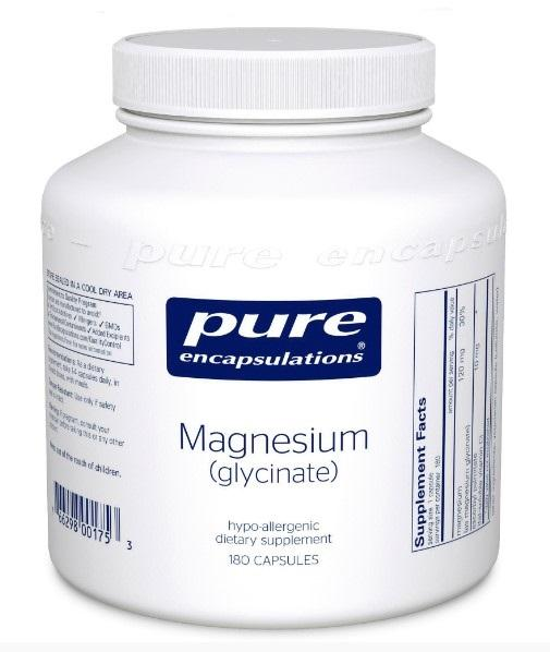 Magnesium (glycinate) 120 mg - 180 Vegetarian Capsule
