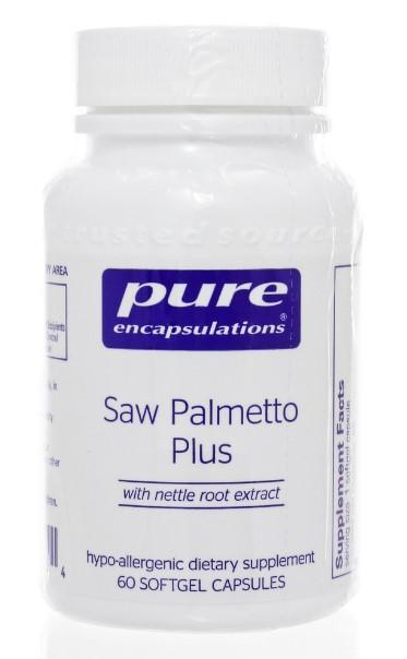 Saw Palmetto Plus - 60 Softgels