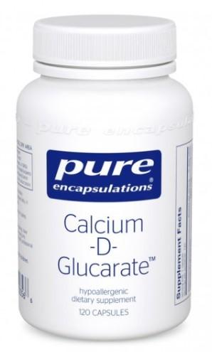 Calcium-d-Glucarate 500 mg - 120 Vegetarian Capsules