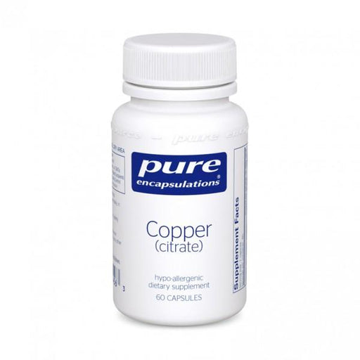 Copper (citrate) - 60 Vegetarian Capsules