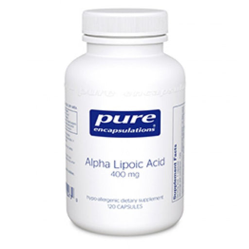 Alpha Lipoic Acid 400 mg - 120 Vegetarian Capsules