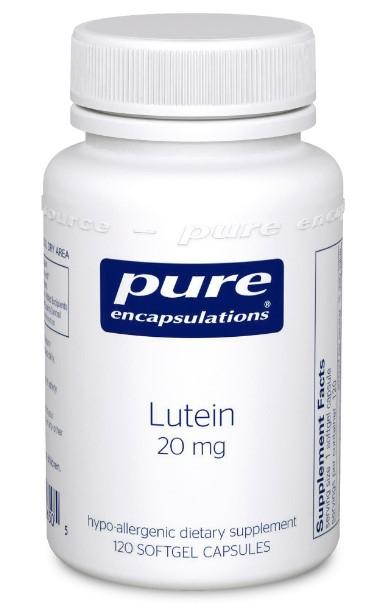 Lutein 20 mg - 120 Softgels