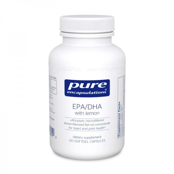 EPA/DHA with lemon - 120 Softgels