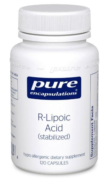 R-Lipoic Acid (stabilized) - 120 Vegetarian Capsules