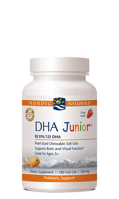 DHA Junior - Strawberry - 180 Softgels