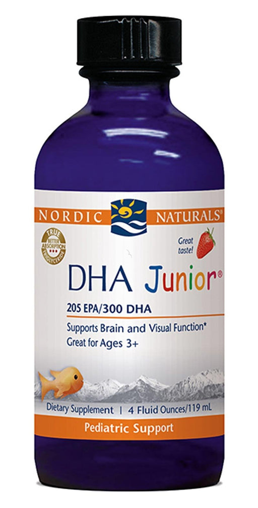 DHA Junior Liquid Strawberry - 4 oz