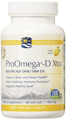 ProOmega-D Xtra 1000 mg - 60 Softgels