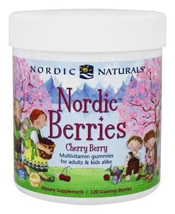 Nordic Berries Cherry Berry - 120 Gummies