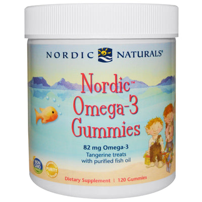 Nordic Omega-3 Gummies - 120 Chewables