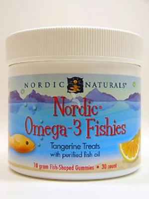 Nordic Omega-3 Gummy Fish - 30 Gummies