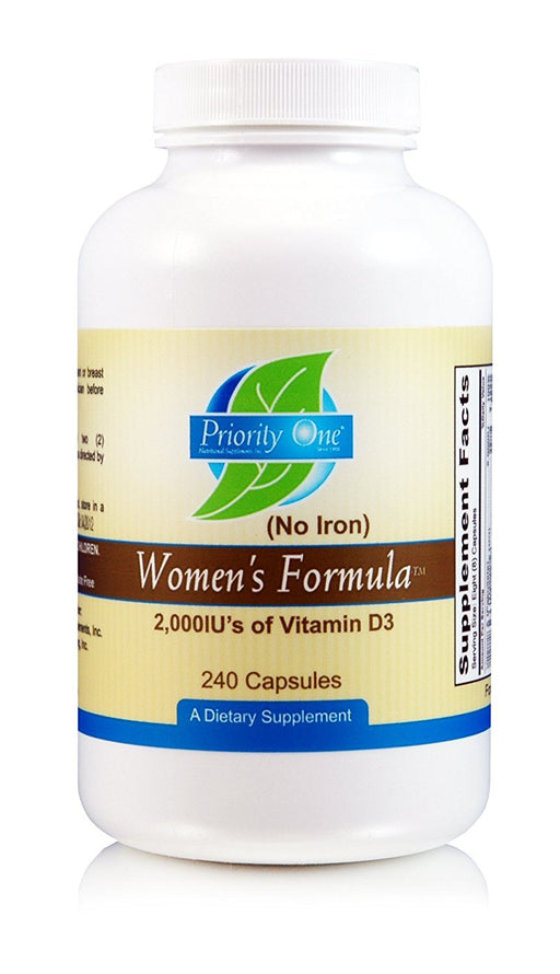 Women's Formula NO Iron - 240 Capsules