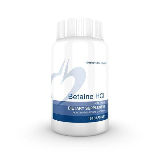 Betaine HCl with Pepsin - 120 Vegetarian Capsules