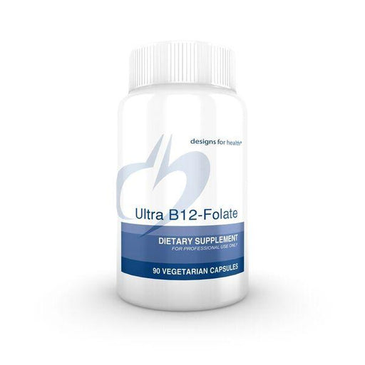 Ultra B12-Folate - 90 Vegetarian Capsules