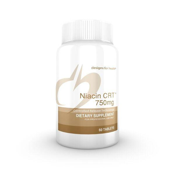 Niacin CRT 750 mg - 60 Tablets