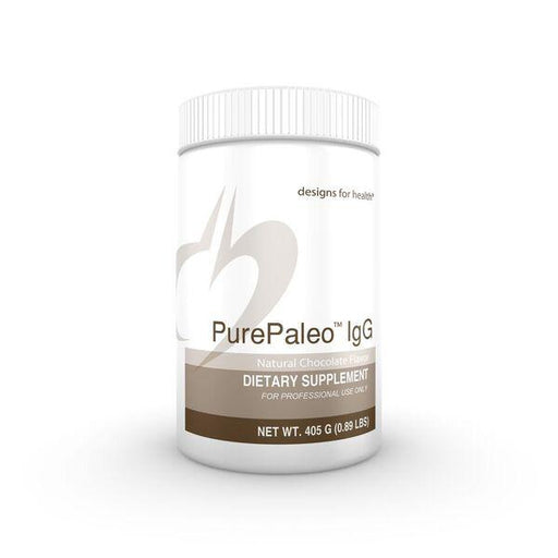 PurePaleo IgG Natural Chocolate Flavor - 405 g (0.89 lbs)