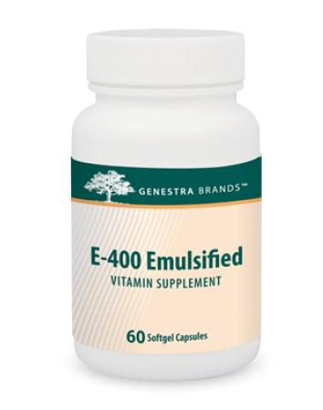 E-400 Emulsified - 60 Softgels