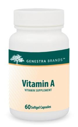 Vitamin A - 60 Softgels