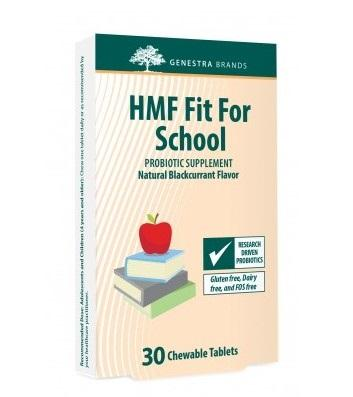 HMF Fit For School - 30 Chewable Tablets