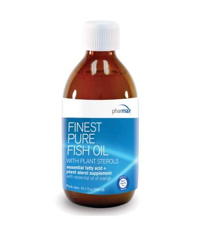 Finest Pure Fish Oil with Plant Sterols - 300 ml