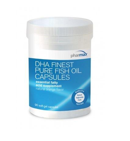 DHA Finest Pure Fish Oil Capsules - 90 Capsules