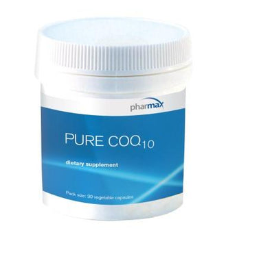 Pure CoQ10 - 30 Vegetable Capsules