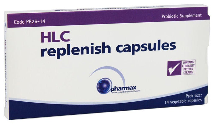 HLC Replenish Capsules - 14 Vegetable Capsules