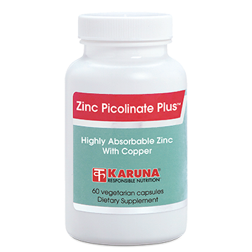 Zinc Picolinate Plus - 60 Vegetarian Capsules
