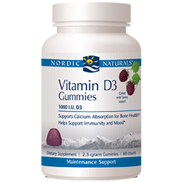 Vitamin D3 Gummy - 60 Gummies
