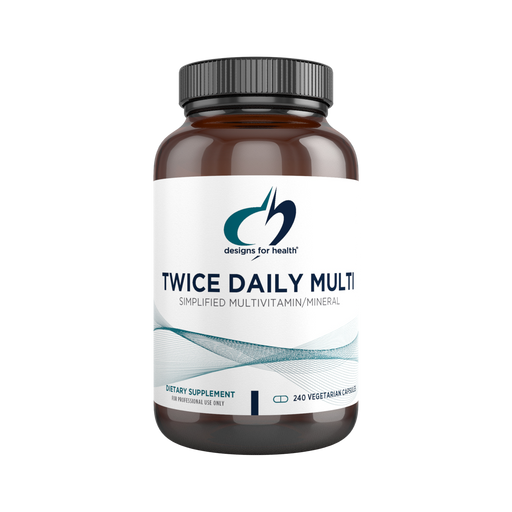 Twice Daily Multi - 240 Vegetarian Capsules