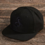 Cobra Black on Black Flat Bill Hat - cobra.com