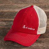 Cobra Red Trucker Hat - cobra.com