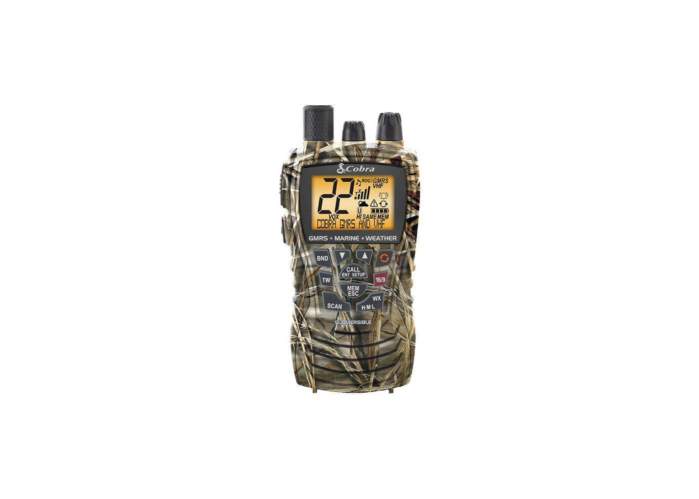 MR HH450 CAMO - All-Terrain-Radio RealTree Max 4 Camo - cobra.com