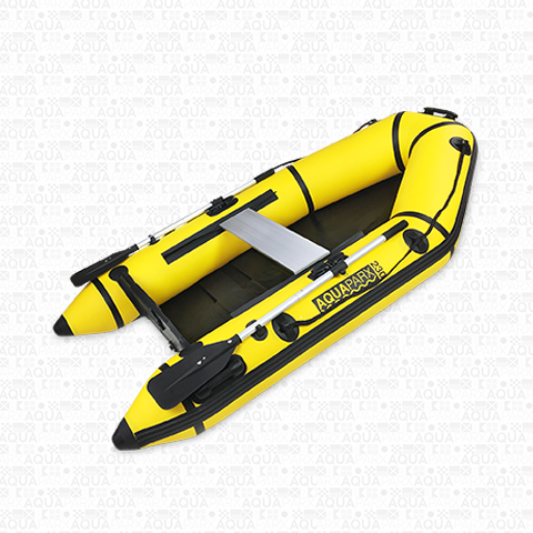RIB230 MKII Inflatable motor boat - Yellow
