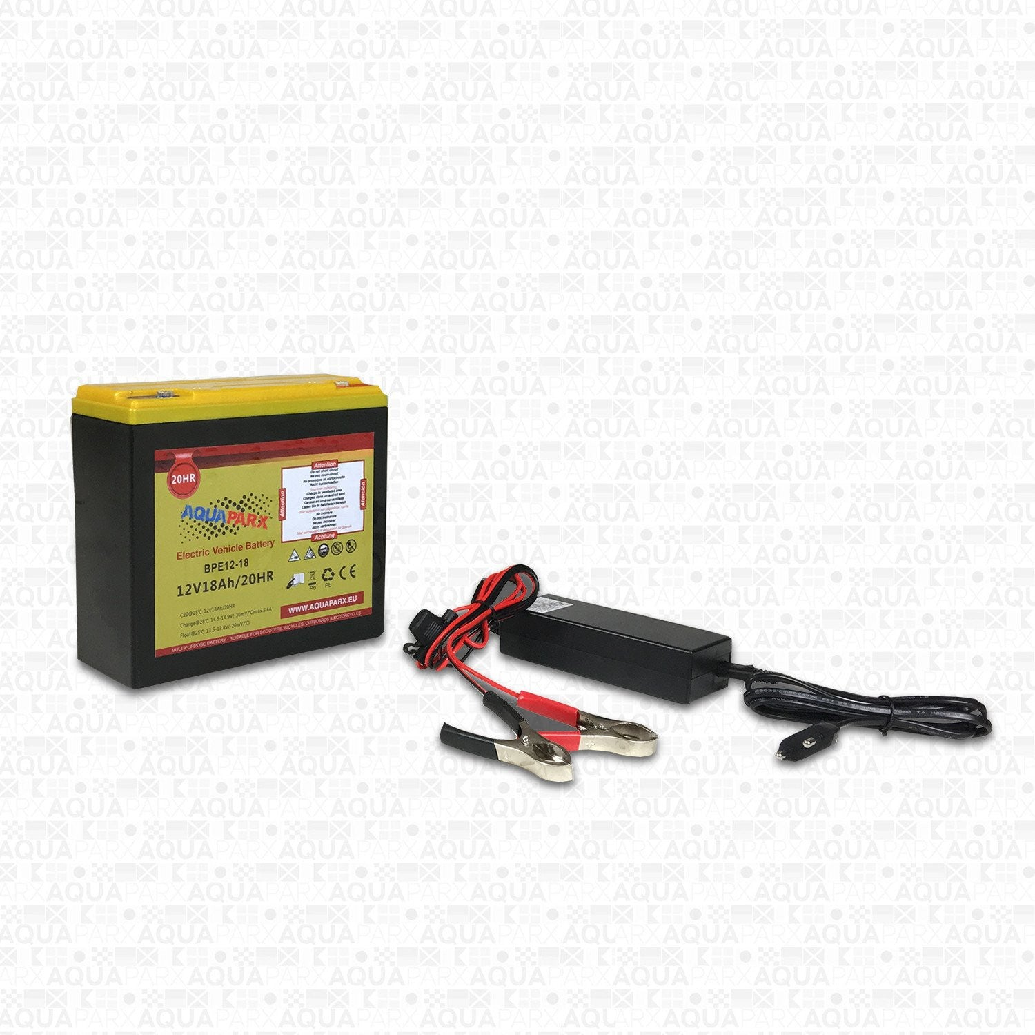 12V/18AH Lead/Acid Battery for electric outboard motor