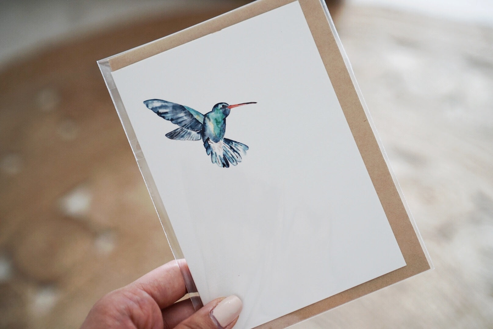The-Lovely-Other-Illustration-Artwork-Giftcard-Hummingbird