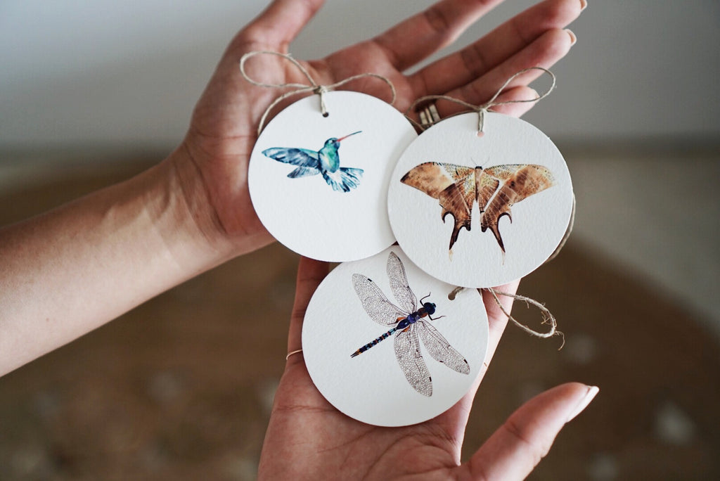 Winged Gift Tags
