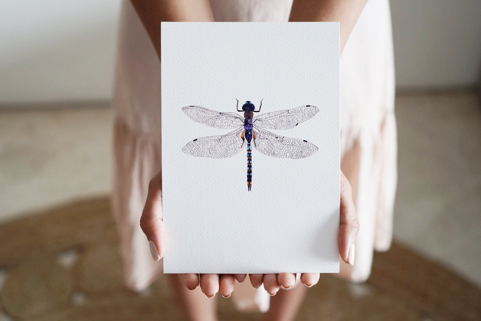 The-Lovely-Other-Illustration-Artwork-Print-Azure-Dragonfly-4