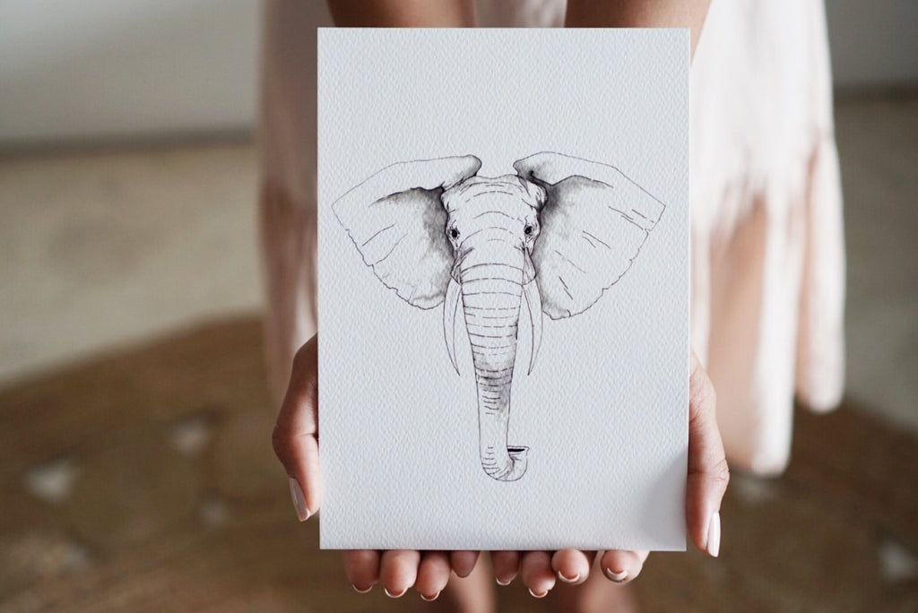 The-Lovely-Other-Illustration-Artwork-Print-Ella-Elephant-Nursery-1