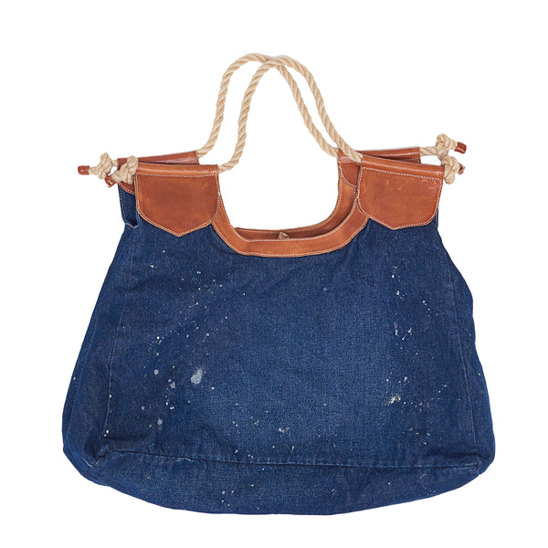 Oversize Ralph Lauren Denim Bag