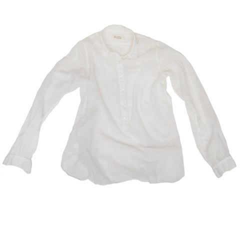 Nili Lotan Sheer White Shirt