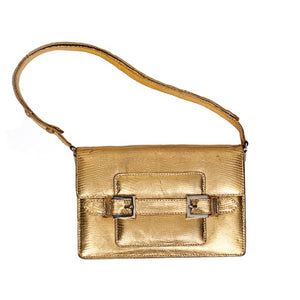 Gold Fendi Bag