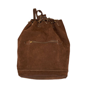 Suede L.L. Bean Backpack