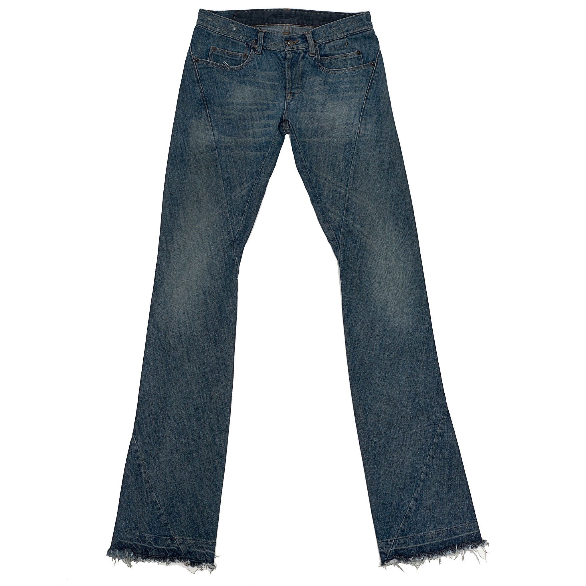 Rick Owens Twisted-Leg Jeans