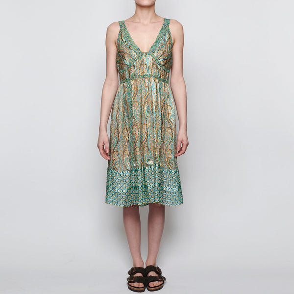 Anna Sui Metallic Dress